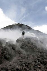 The Pacaya volcano