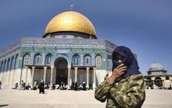 Palestinian Muslim worshipper