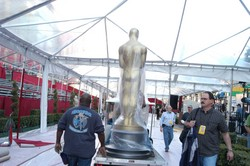 81st Annual Academy Award Set Up