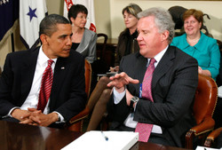 President Barack Obama,  Jeffrey Immelt