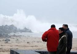 Storms in San Sebastian