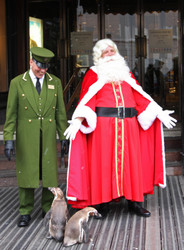 Santa Claus at Harrods