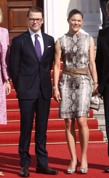 Princess Victoria and Prince Daniel of Sweden