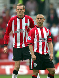 Peter Crouch and Kevin Phillips