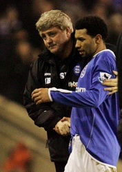 Steve Bruce and Jermaine Pennant