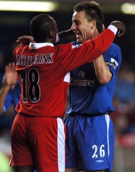 John Terry and Jimmy Floyd Hasselbaink