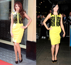 Amy Childs and Linzi Stoppard