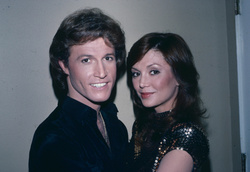 Andy Gibb and Victoria Principal