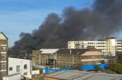 Huge Fire in London