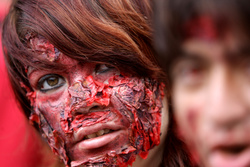 Mexico City Zombie Walk.