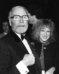 Laurence Olivier and Bette Midler
