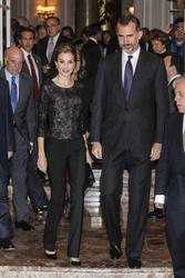 Queen Letizia and King Felipe of Spain
