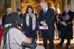Anne Hidalgo and Boris Johnson