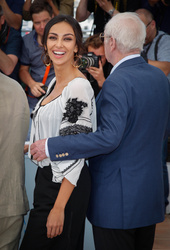 Madalina Ghenea  and Michael Caine