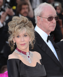 Jane Fonda and Michael Caine