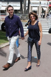 Emma de Caunes and Jamie Hewlett