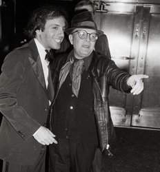 Steve Rubell and  Truman Capote