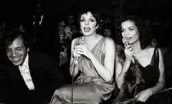 Steve Rubell,  Liza Minnelli and Bianca Jagger