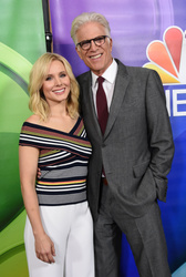 Kristen Bell and Ted Danson