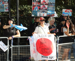 Stop the Slaughter protesters