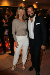Paulo Benedeti and Tracy Melchior