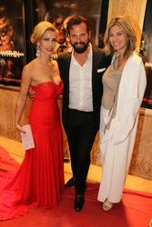 Romina Di Lella, Paulo Benedeti and Tracy Melchior