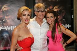 Romina Di Lella, Eric Roberts and Alicia Arden