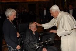 Pope Benedict XVI and Stephen Hawking
