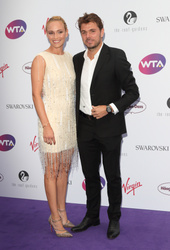 Donna Vekic and Stan Wawrinka