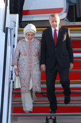 Recep Tayyip Erdogan and Emine Gulbaran
