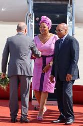 Jacob Zuma and Gloria Bongekile Ngema