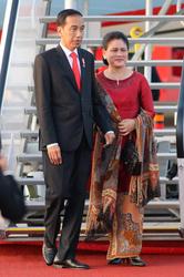 Joko Widodo and   Iriana Widodo
