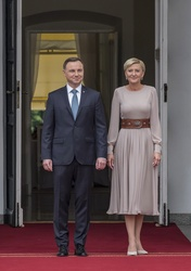 Andrzej Duda and Agata Duda
