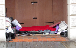 Homeless and rough sleepers