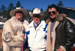 Larry Hagman, Morgan Woodward and Patrick Duffy