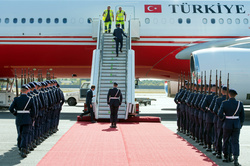 Germany prepares for the arrival of President of Turkey Recep Tayyip Erdogan