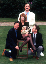 Michael Palin, John Cleese, Kevin Kline and  Jamie Lee Curtis