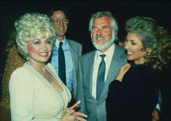 Dolly Parton, Kenny Rogers and Marianne Gordon