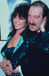 Gorden Kaye and Vicki Michelle