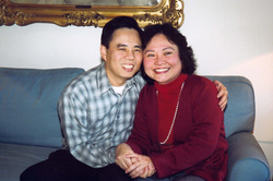 Kim Phuc and Bui Huy Toan