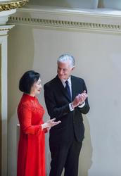 Kim Phuc  and James Nachtwey