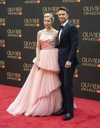 Celinde Schoenmaker and Richard Fleeshman
