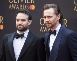 Charlie Cox and Tom Hiddleston
