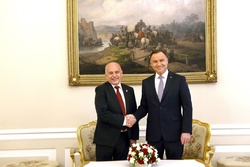 Ueli Maurer and  Andrzej Duda