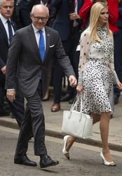 Woody Johnson, American Ambassador and Ivanka Trump