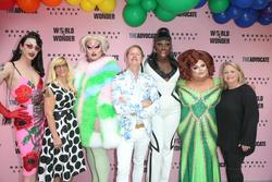 Violet Chachki, Diane Anderson-Minshall, Kim Chi, Carson Kressley, Ginger Minj, Bob the Drag Queen, Susan Vance