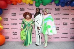 Ginger Minj, Bob the Drag Queen, Kim Chi