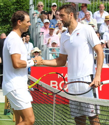 Rafael Nadal and Marin Cilic