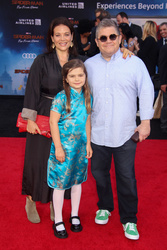 Meredith Salenger, Alice Rigney Oswalt, Patton Oswalt
