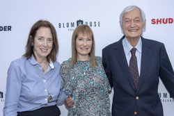 Julie Corman, Gale Anne Hurd and Roger Corman
